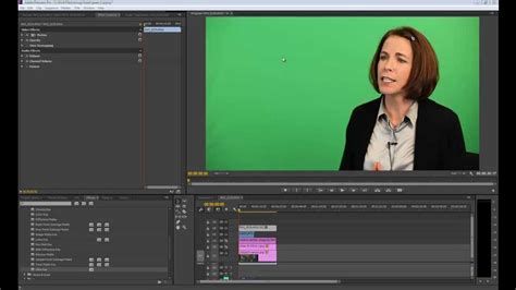 Adobe Premiere Pro Green Screen | working with green screen in premiere pro cc youtube