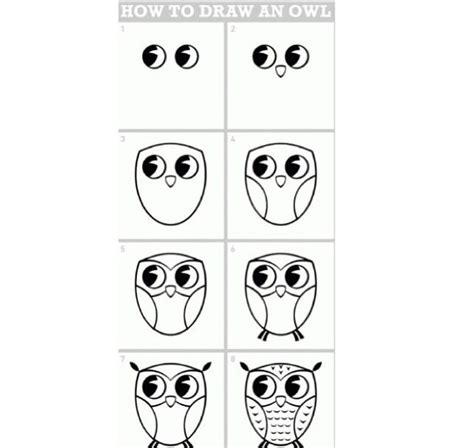 how to draw an owl learn to draw a cute colorful owl in cute and easy way to draw an owl c art art art