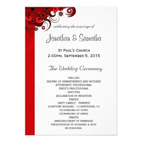 program invitation template wedding invitation wording wedding invitations and