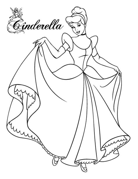cinderella coloring pages free to print cinderella coloring pages to print