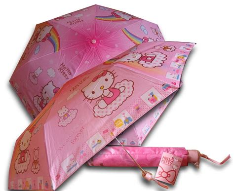 Payung Lipat Pelangi 3d payung karakter