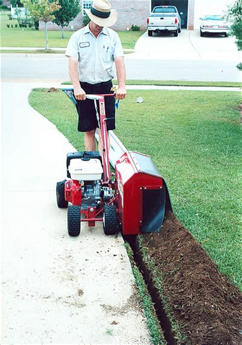 Landscape Bed Edger Concrete Edging Machine Made Edging