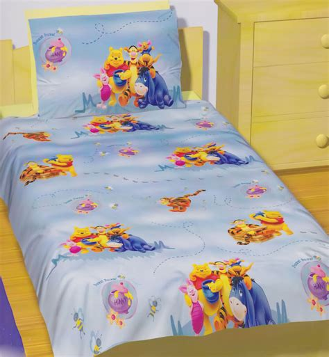 winnie the pooh coverlet winnie the pooh quilt doona duvet cover set disney bedding