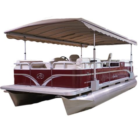pontoon tops with sides 8 6 quot blue water pontoon tops