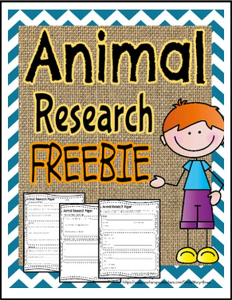 Animal Research Paper For 4th Grade by The Best Of Entrepreneurs Free Misc Lesson Animal Research Paper Template