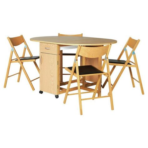Buy Garden Table And Chairs Buy Collection Willow Dining Table And 4 Chairs Oak Stain