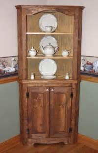 hutch curio corner free shipping rustic primitive china