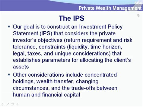 investment policy statement template cfa level 3 investment policy statement dr carl crego