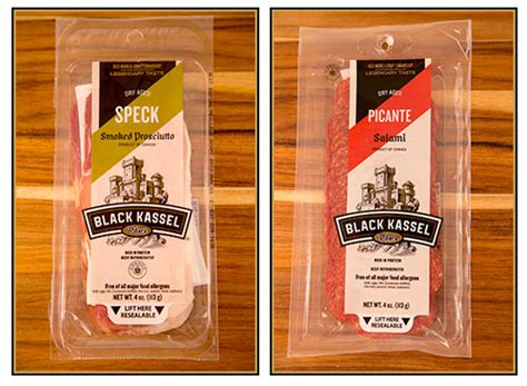 Sliced Prosciutto Shelf by Piller S Black Kassel Line Of Premium Sliced Meats