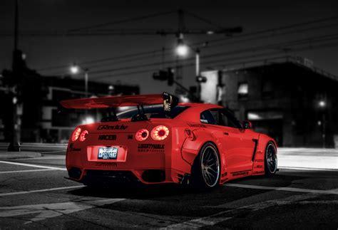 Red Black Wallpaper Hd Nissan Gt R By Belkacemrezgui On