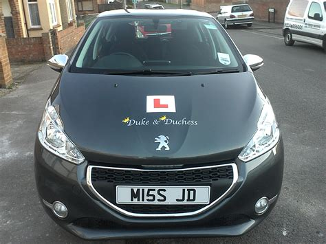 driving instructor kettering new peugeot 208 for