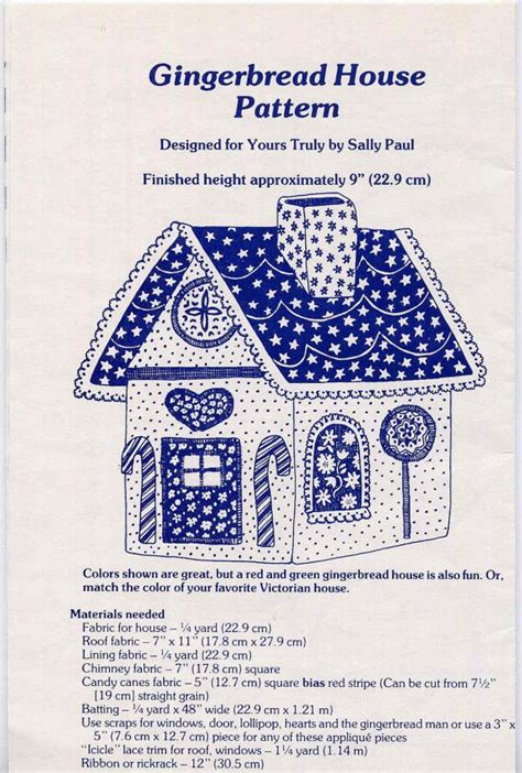 paper bag gingerbread house pattern 17 best images about tissue box covers on pinterest