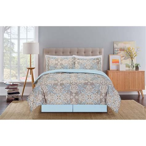 design studio home collection bedding mytex design studio queen microfiber emilia comforter set