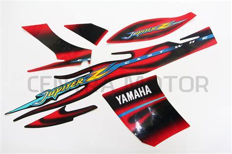 Sticker Motor Yamaha Jupiter Z 2005 Striping Motor jual sticker striping jupiter z 2005 cw semua warna harleon
