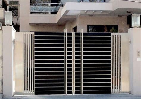 modern house steel gate modern stainless steel gates design idea gates ในป 2019 house gate
