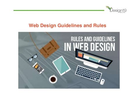 web layout design standards web design guidelines and rules
