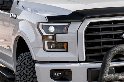 2017 ford f150 lights 2015 2017 f150 anzo led switchback outline projector