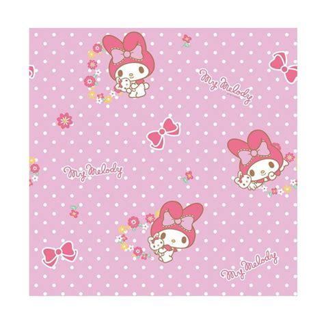 Wallpaper Sticker Polkadot Kamar Anak Jual New Sanrio World Kt 170 Motif My Mellody Polkadot
