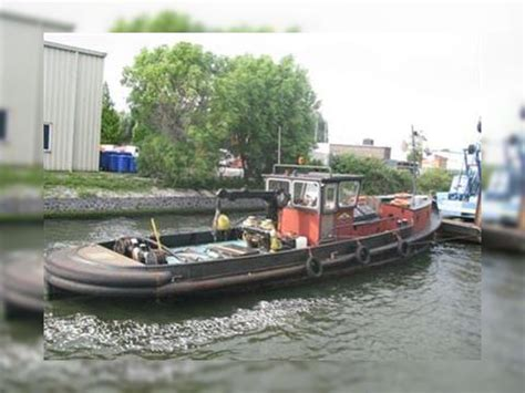 tug push boat commercial private s i certificate for sale - Private Tug Boats For Sale