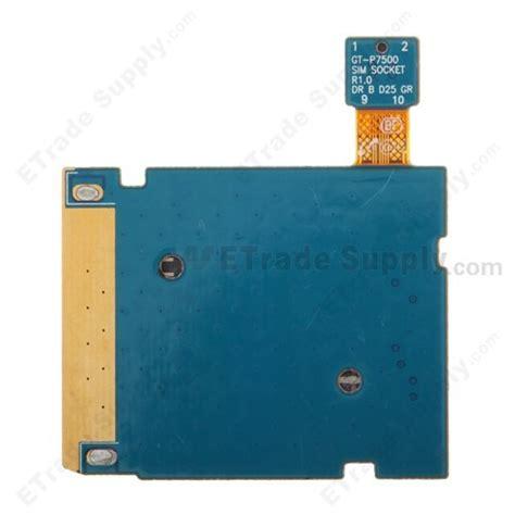 Samsung Tablet 2 Sim Card samsung galaxy tab 10 1 p7500 sim card reader contact etrade supply