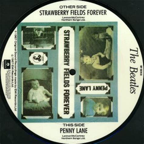 cbs uk singles discography 1965 1967 at sixtiesbeat strawberry fields forever penny lane