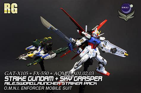 Bandai Rg 1 144 Skygrasper gundam rg 1 144 aile strike gundam skygrasper