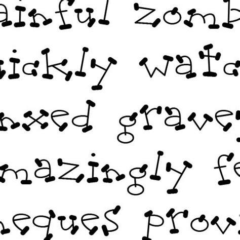 doodle print font free ld doodles font