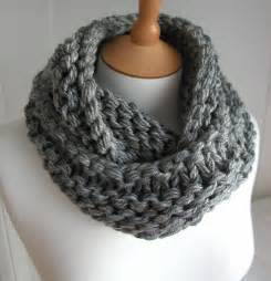 Knitted Infinity Cowl Pattern Craftdrawer Crafts Trends In Knitting Top 10 Free