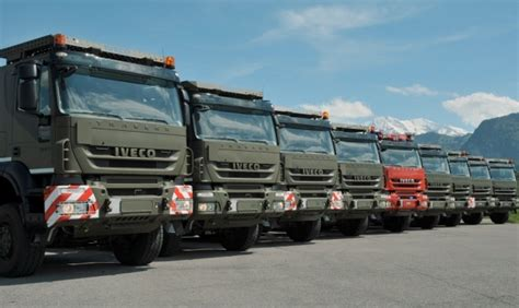 Swiss Army 400 swiss army orders 400 new trucks from iveco