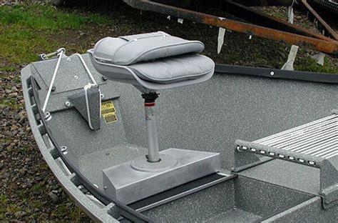 jon boat seat post koffler boats drift boat rear seating options koffler