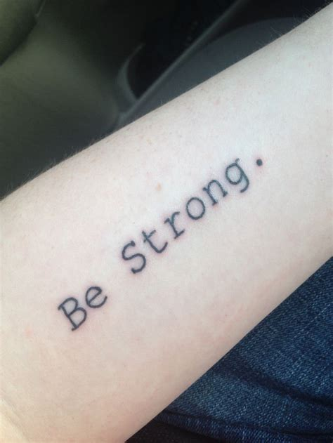 be strong tattoo be strong stay strong stay strong