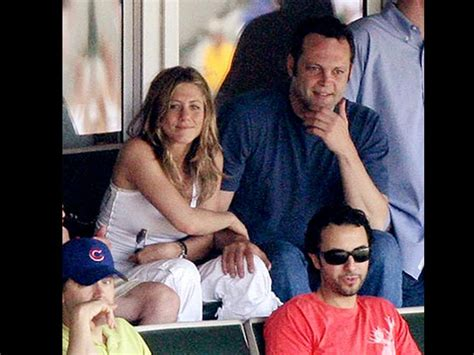 Vince Vaughn At Anistons Birthday by Aniston Aniston Birthday
