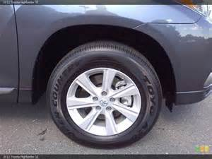 Toyota Tires 2012 Toyota Highlander Se Wheel And Tire Photo 55479966