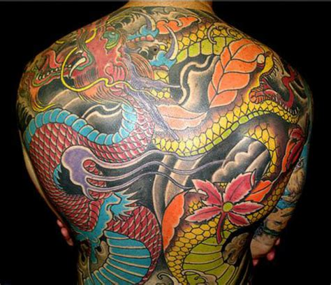full body dragon tattoo male tatuaggi full body