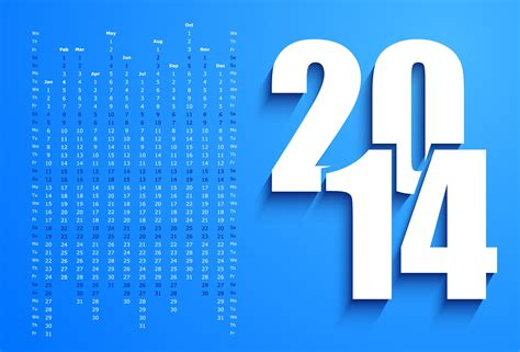 new year 2014 calendar wallpaper new year 2014 calendar on a blue background wallpapers and