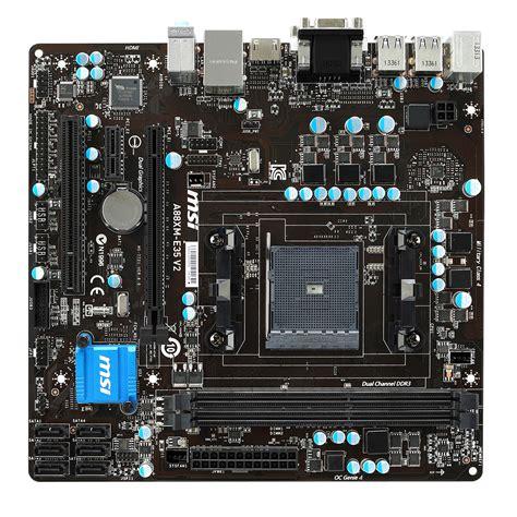 Msi A88xm E35 V2 Socket Fm2 msi a88xm e35 v2 carte m 232 re msi sur ldlc