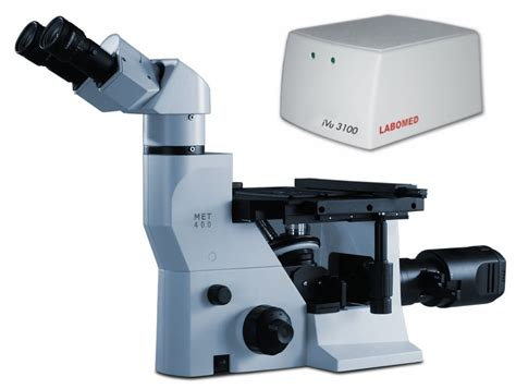 Inverted Metallurgical Microscopes labomed met 400 trinocular inverted metallurgical