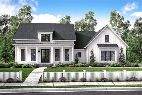 farm house house plans mid size exclusive modern farmhouse plan 51766hz