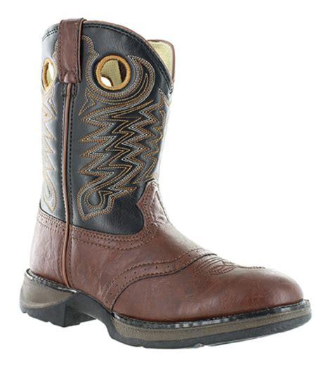 boys durango cowboy boot brown