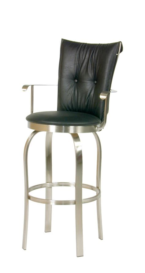 fabric counter stools canada custom made in canada rt 8892 tuscany ii swivel stool w