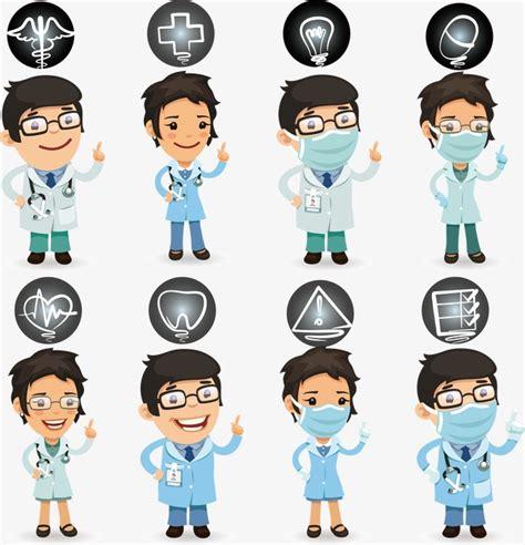 desenho profissionais m 233 dico enfermeira dos desenhos animados o