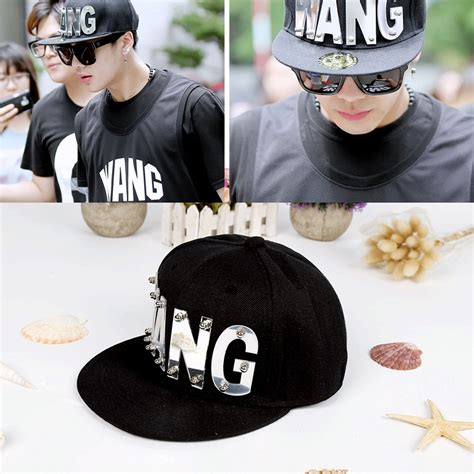 Got7 Snapback got7 jackson wang j flawless acrylic baseball caps unisex hats caps adjustable caps