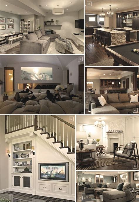 17 best ideas about basement designs on