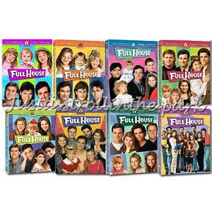 full house dvd complete series best buy full house complete tv series season 1 2 3 4 5 6 7 8 dvd boxed sets new