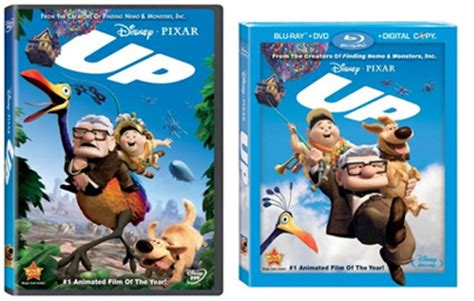 film up dvd pixar s up out on dvd blu ray