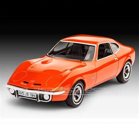 Opel Gt Kit by Revell Monogram Opel Gt Plastic Model Kit 07680