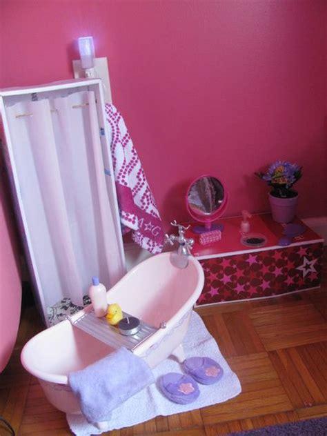 how to make an american girl doll bathroom diy american girl doll bathroom jenna sue pinterest