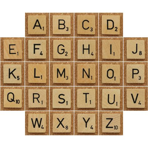 Wood Scrabble Tiles A Photo On Flickriver