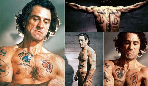cape fear tattoo cape fear robert de niro as max cady 1991