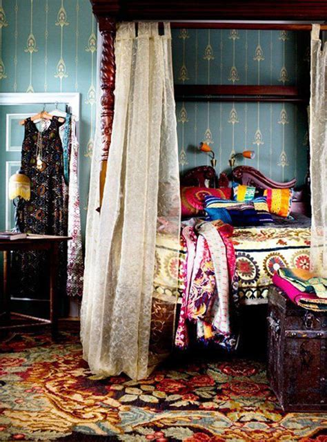 gypsy style bedroom colorful gypsy bedroom interior design